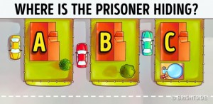 Where is the prisoner hidden