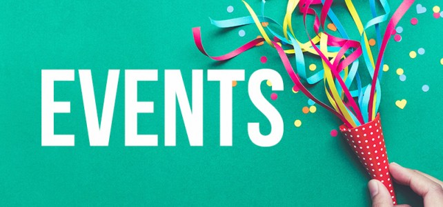 Pencil the dates – Happy Events